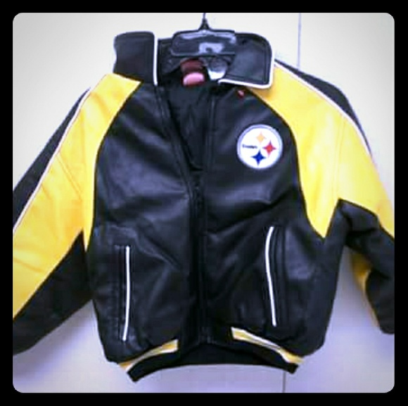 newest 7dabd e672a Final Sale! Pittsburgh Steelers Coat Child Size 8